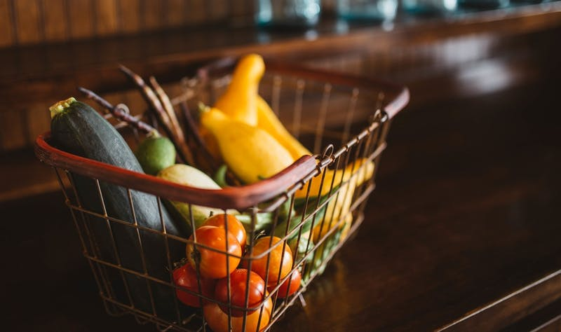 Plastic-free grocery shopping