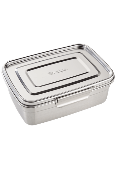Smidge Stainless Steel Lunch Box with Divider