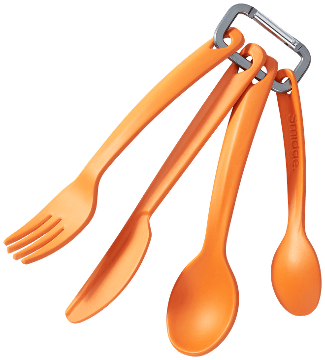 Smidge Carabiner Cutlery Set