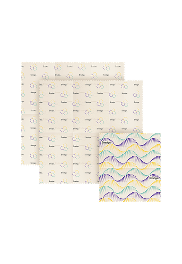 Smidge Beeswax Wrap Lunch Set