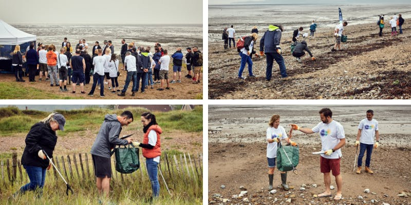 Our beach clean experience with the Marine Conservation Society