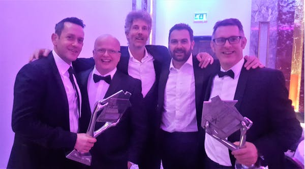 The team with the two awards