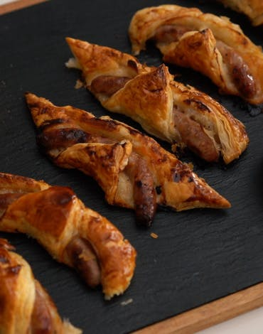 Recipe: spooky Sausage Roll Fingers