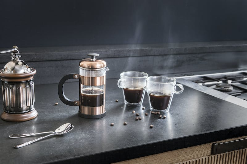 Judge Cafetiere and Double Walled Mugs
