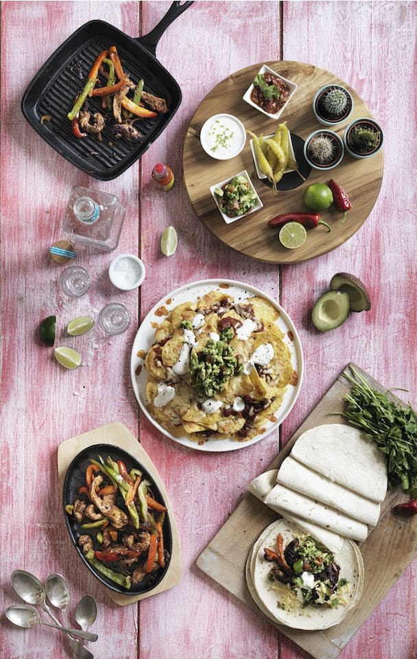 Judge Tastes of the World - Mexican meal
