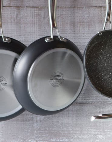 Stellar Rocktanium Cookware - the best non-stick pans in town Thumbnail
