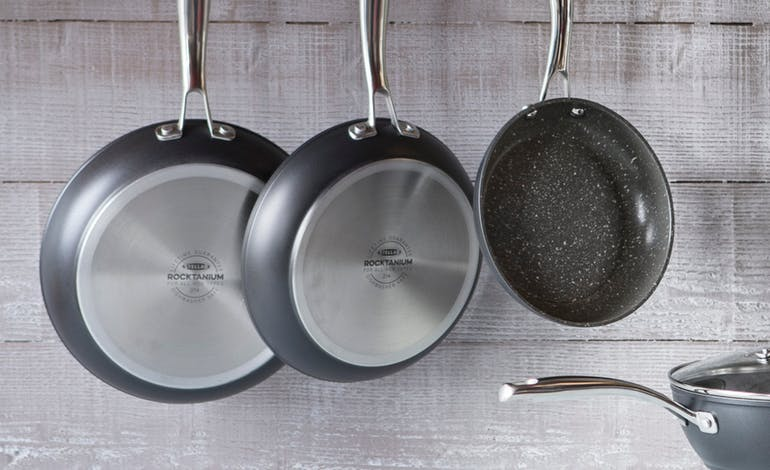 Stellar Rocktanium Cookware - the best non-stick pans in town Default