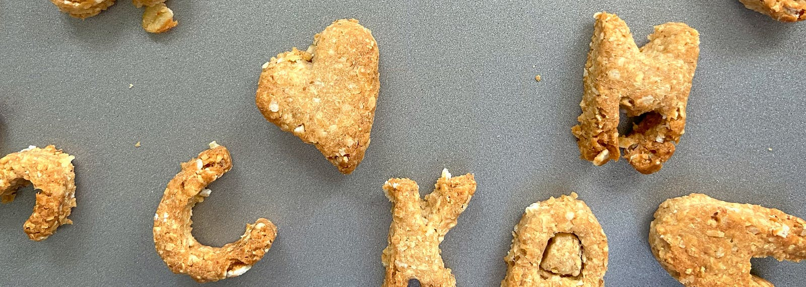Homemade Peanut Butter Dog Biscuits
