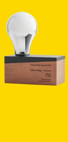 Smidge eco-friendly Natural Collection - Consumer Product Design Award 2019