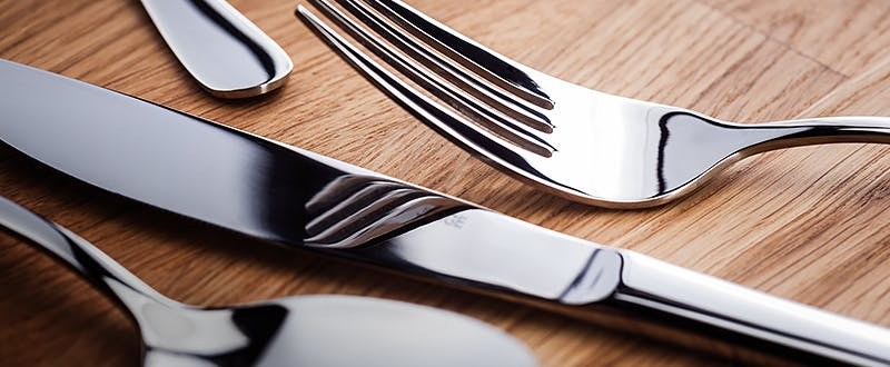 Judge Cutlery - fork, knife and spoon