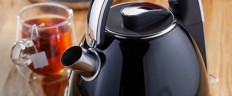 Judge black & chrome electric kettle
