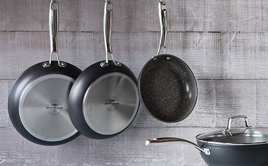 Stellar Rocktanium non-stick frying pans and saute pan