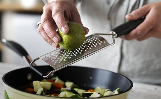 Stellar Premium Acid Extched Grater with lime