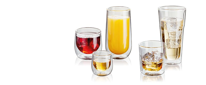 Judge Double Walled glasses and tumblers