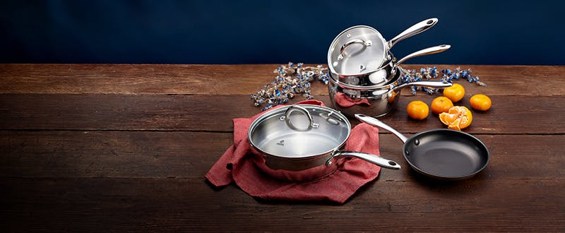 Judge Classic stainless steel cookware - winter sale