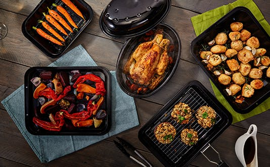 Judge Enamel Ovenware - roasters, trays and more for the perfect Christmas roast