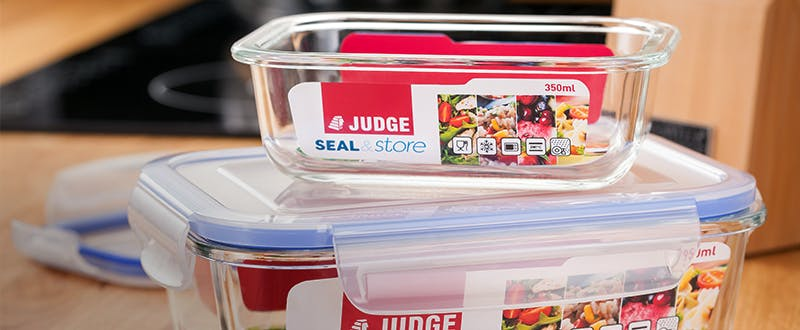 Judge Seal & Store containers