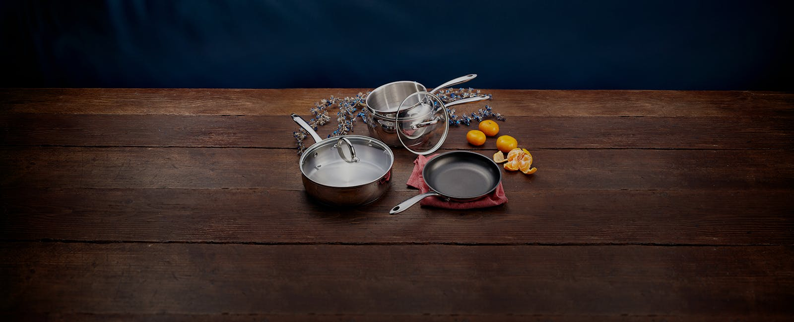 Judge Classic stainless steel cookware
