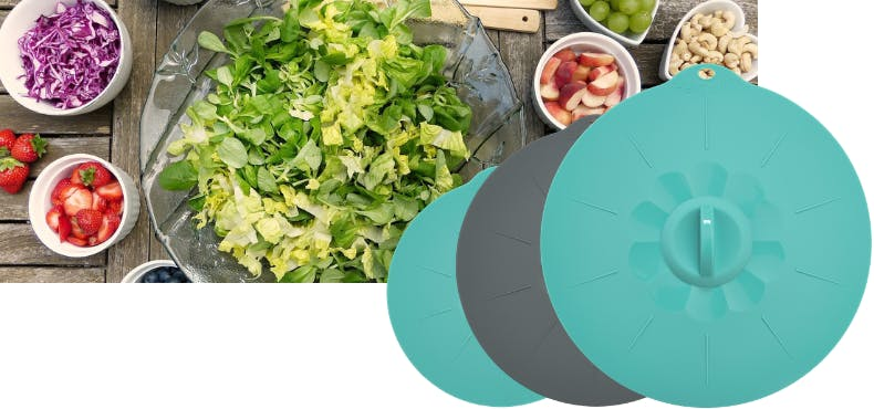 eco friendly silicone bowl covers for leftovers