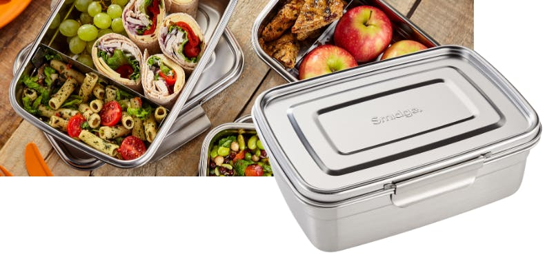 Leak-proof stainless steel lunch boxes