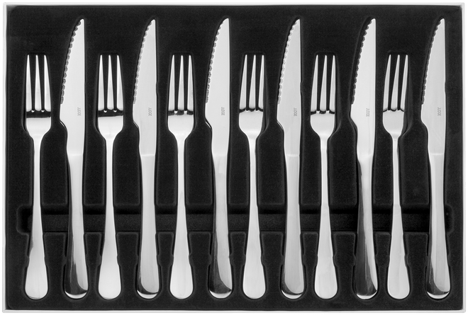 Judge Windsor  Steak Knife & Fork Set,
