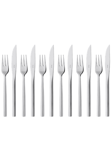 Stellar Rochester  Steak Knife & Fork Set