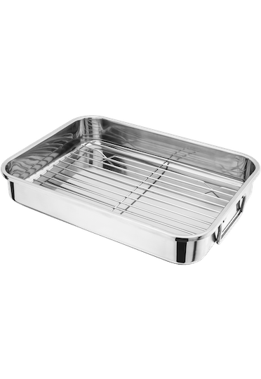 Judge Speciality Cookware Roasting Pan with Rack