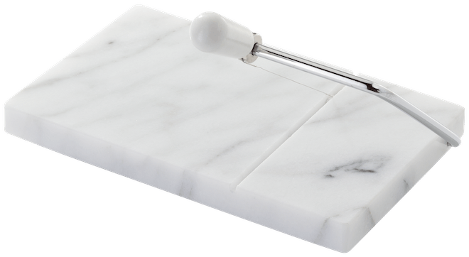 Judge Marble Cheese Board & Cutter