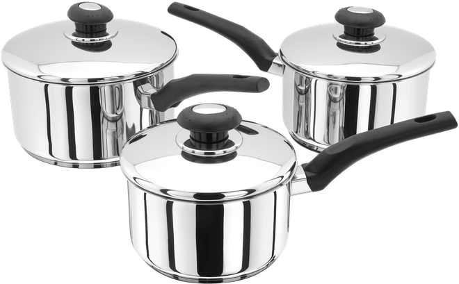 Judge Essentials  Saucepan Set,