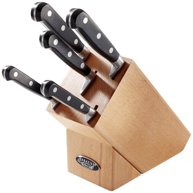 Stellar Sabatier IS Knife Block Set