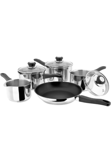 Judge Vista, 5 Piece Draining Saucepan Set