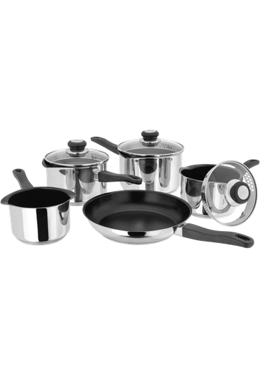 Judge Vista Draining Saucepan Set Non-Stick