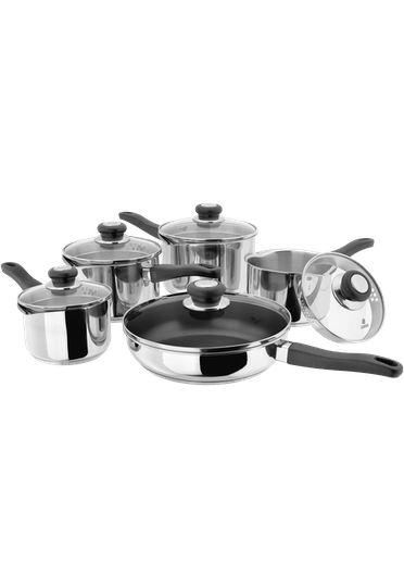 Judge Vista, 5 Piece Draining Saucepan Set (was PP210NS