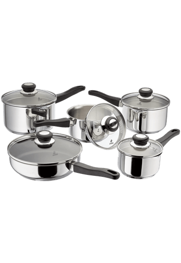 Judge Vista 5 Piece Draining Saucepan Set