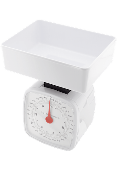Judge Kitchen  Traditional White Scale