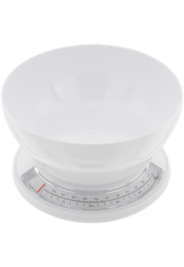 Judge Kitchen  White Bowl Scale