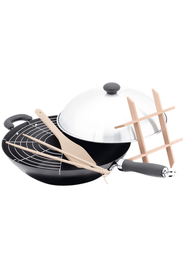 Judge Speciality Cookware  Wok Set Non-Stick