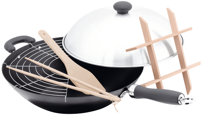 Judge Speciality Cookware  Wok Set, Non-Stick