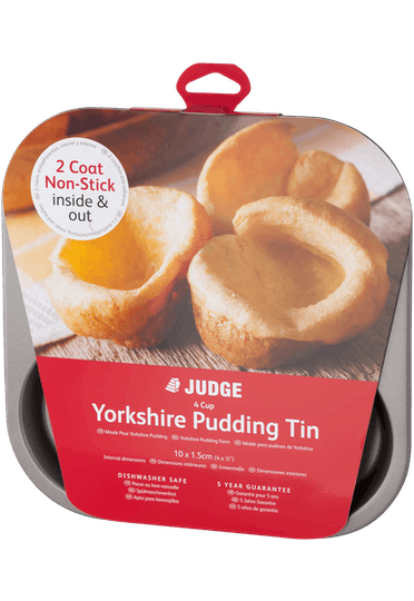 Judge Bakeware Yorkshire Pudding Tin Non-Stick