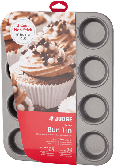 Judge Bakeware  Bun Tin Non-Stick