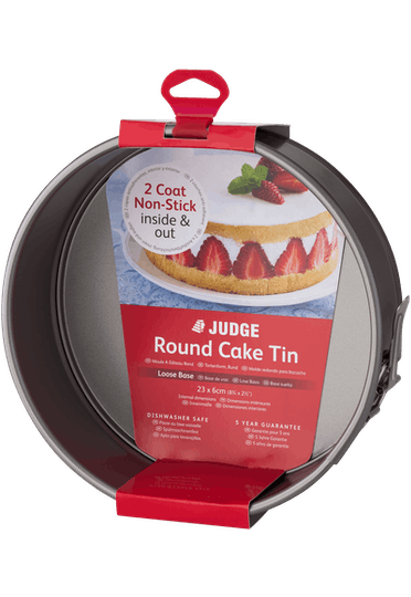 Judge Bakeware  Round Cake Tin Springform Non-Stick