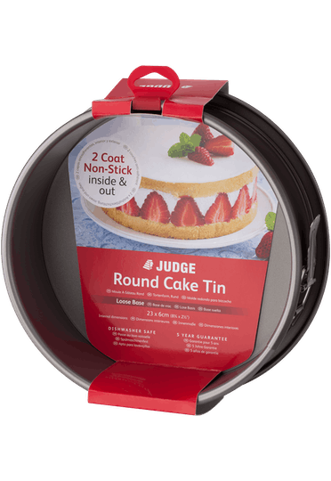 Judge Bakeware  Round Cake Tin Springform & Serving Ba
