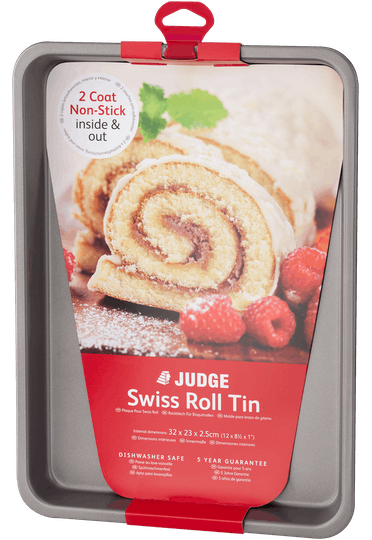 Judge Bakeware Swiss Roll Tin Non-Stick