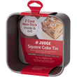 Judge Bakeware  Square Cake Tin, Loose Base, Non-Stick