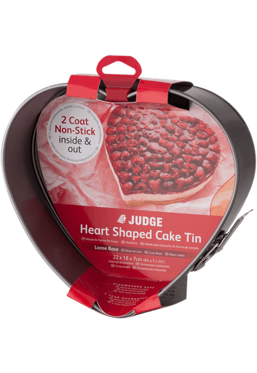 Judge Bakeware Heart Shaped Cake Tin Springform Non-S
