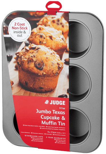 Judge Bakeware Cupcake/Muffin Tin Non-Stick