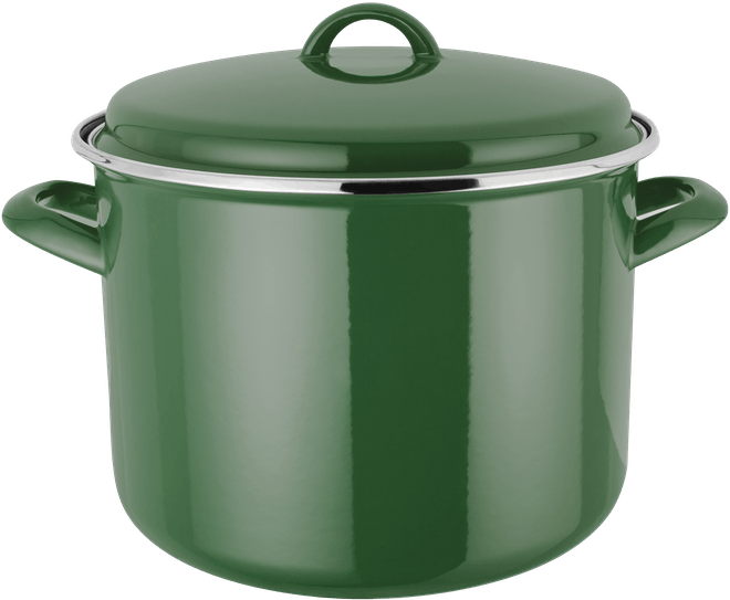 Judge Induction  Stockpot, enamel