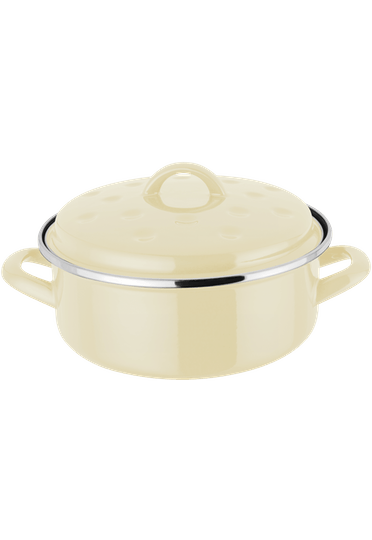 Judge Essentials Enamel Round Roaster enamel