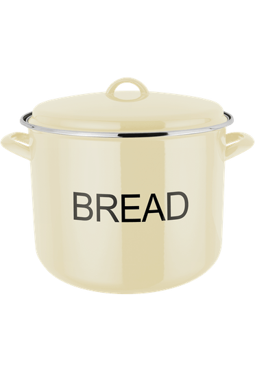 Judge Essentials Enamel Bread Crock enamel