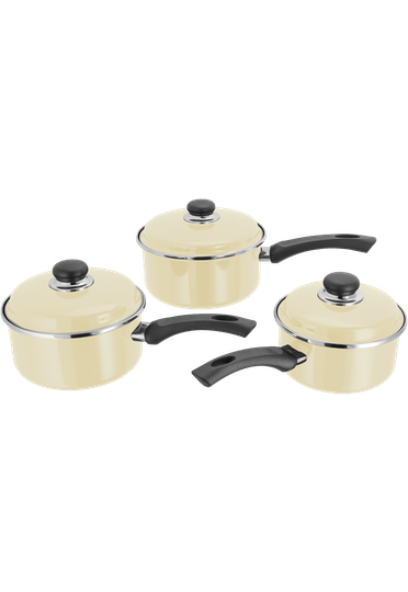 Judge Induction Saucepan Set Non-Stick